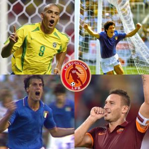 Nati a Settembre: Ronaldo, Rossi, Tardelli e Totti.
